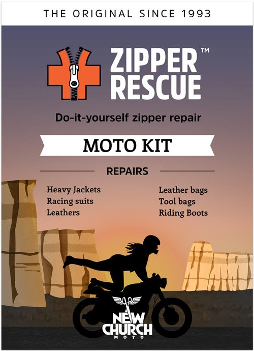 Zipper Repair for Motorcycle gear, heavy jackets, leathers, bags and more!